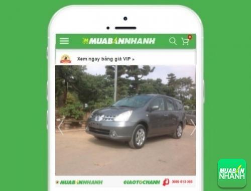 Xe ôtô Nissan Livina 1.8L MT - sản phẩm đang bán trên mạng xã hội MuaBanNhanh