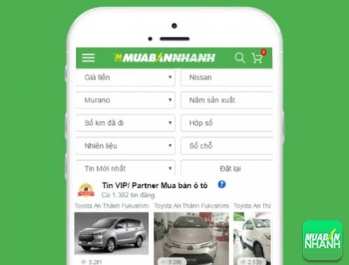 Tìm mua xe ôtô Nissan Murano hiệu quả trên Mạng xã hội MuaBanNhanh