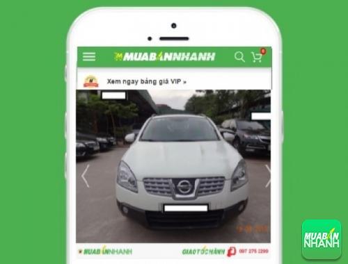 Xe ôtô Nissan Qashqai - sản phẩm đang bán trên mạng xã hội MuaBanNhanh
