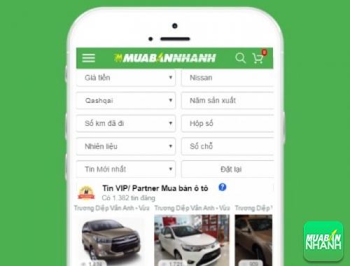 Tìm mua xe ôtô Nissan Qashqai hiệu quả trên Mạng xã hội MuaBanNhanh