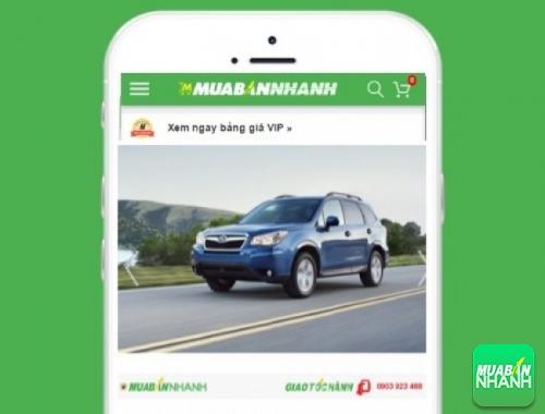 Xe ôtô Subaru - sản phẩm đang bán trên mạng xã hội MuaBanNhanh