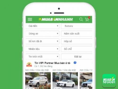 Tìm mua xe ôtô Subaru hiệu quả trên Mạng xã hội MuaBanNhanh