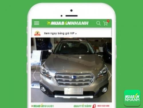 Xe ôtô Subaru Outback - sản phẩm đang bán trên mạng xã hội MuaBanNhanh