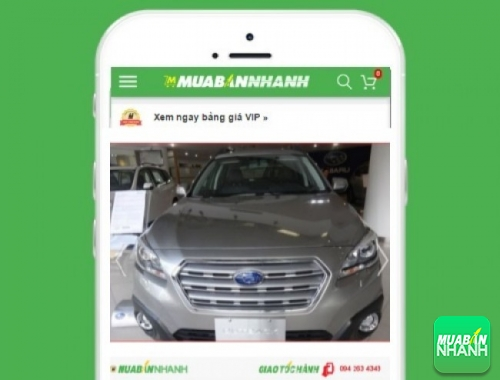Xe ôtô Subaru Outback 2.5i-S - sản phẩm đang bán trên mạng xã hội MuaBanNhanh