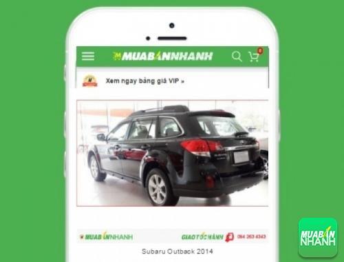 Xe ôtô Subaru Outback 3.6R - sản phẩm đang bán trên mạng xã hội MuaBanNhanh