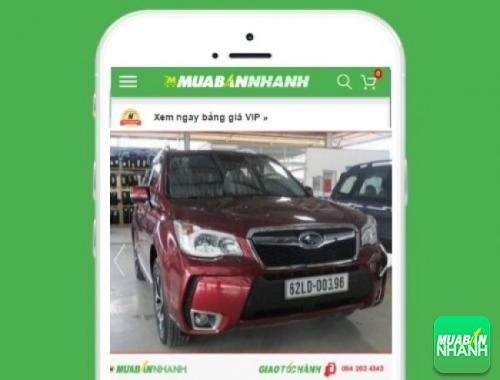 Xe ôtô Subaru Forester  - sản phẩm đang bán trên mạng xã hội MuaBanNhanh