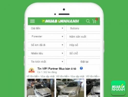 Tìm mua xe ôtô Subaru Forester hiệu quả trên Mạng xã hội MuaBanNhanh