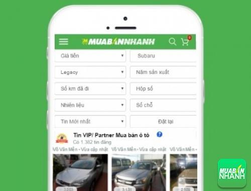 Tìm mua xe ôtô Subaru Legacy hiệu quả trên Mạng xã hội MuaBanNhanh