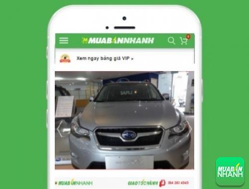 Xe ôtô Subaru XV - sản phẩm đang bán trên mạng xã hội MuaBanNhanh