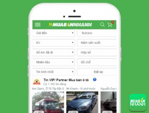 Tìm mua xe ôtô Subaru XV hiệu quả trên Mạng xã hội MuaBanNhanh