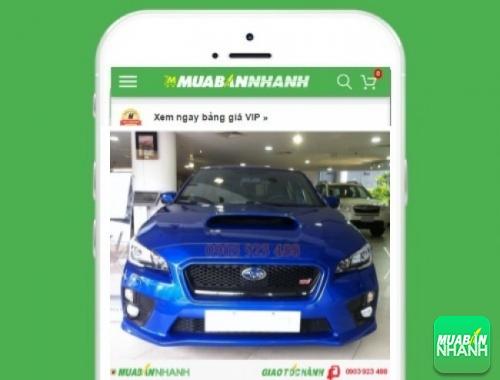 Xe ôtô Subaru WRX - sản phẩm đang bán trên mạng xã hội MuaBanNhanh