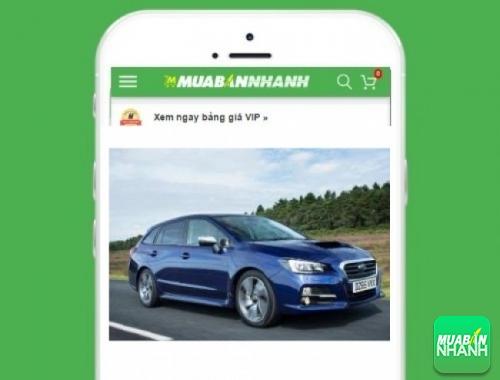 Xe ôtô Subaru Levorg - sản phẩm đang bán trên mạng xã hội MuaBanNhanh