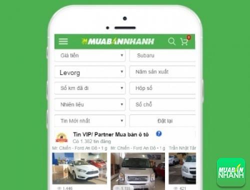 Tìm mua xe ôtô Subaru Levorg hiệu quả trên Mạng xã hội MuaBanNhanh