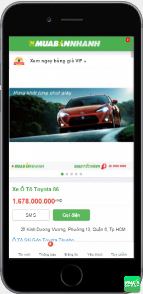Xe ôtô Toyota 86 - sản phẩm đang bán trên mạng xã hội MuaBanNhanh